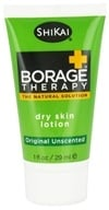 Shikai - Borage Therapy Dry Skin Lotion Original Unscented - 1 oz.