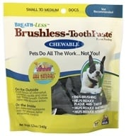 Ark Naturals - Breath-Less Chewable Brushless-Toothpaste for Small to Medium Dogs - 12 oz. (632634400002)
