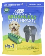Ark Naturals - Breath-Less Chewable Brushless-Toothpaste for Medium to Large Dogs - 18 oz. (632634400019)