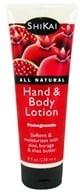 Shikai - Hand & Body Lotion Pomegranate - 8 oz. by Shikai
