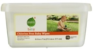 Seventh Generation - Baby Wipes Tub - 70 Wipe(s)