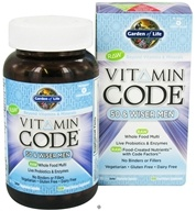 Garden of Life - Vitamin Code RAW 50 & Wiser Men's Multi Formula - 120 Vegetarian Capsules