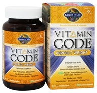 Garden of Life - Vitamin Code Perfect Weight Formula - 120 Vegetarian Capsules, from category: Vitamins & Minerals
