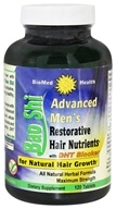 Image of BioMed Health - Advanced Men's Bao Shi Restorative Hair Nutrients - 120 Caplets
