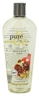 Image of Pure & Basic - Natural Bath and Body Wash Pomegranate Ginger - 12 oz.