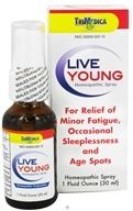 Trimedica - Live Young Homeopathic Spray - 1 oz. by Trimedica