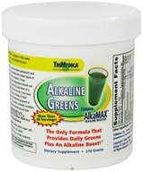 Trimedica - Alkaline Greens w/ AlkaMax Powder - 210 Grams by Trimedica
