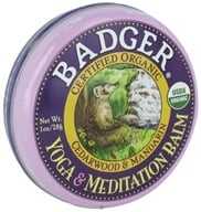 Badger - Yoga and Meditation Balm - 1 oz. by Badger