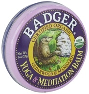 Badger - Yoga and Meditation Balm - 1 oz.