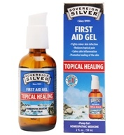 Sovereign Silver - Silver First Aid Gel - 2 oz. by Sovereign Silver