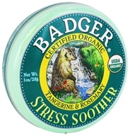 Badger - Stress Soother Balm - 1 oz. (634084480245)