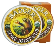 Badger - Sore Joint Rub Arnica Blend - 2 oz., from category: Personal Care