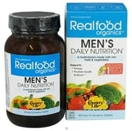 Country Life - Real Food Organics Men's Daily Nutrition - 60 Tablets - $22.19