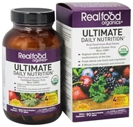 Country Life - Real Food Organics Ultimate Daily Nutrition - 90 Tablets - $43.79