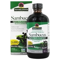 Image of Nature's Answer - Sambucus Black Elder Berry Extract - 8 oz.