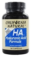 California Natural - HA Hyaluronic Acid Formula - 90 Capsules (011821590090)