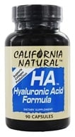 Image of California Natural - HA Hyaluronic Acid Formula - 90 Capsules