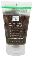 Earth Therapeutics - Refreshing Foot Scrub Therapeutic Exfoliator - 4 oz.