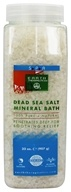 Earth Therapeutics - Dead Sea Salt Mineral Bath 100% Pure & Natural - 32 oz. (704694043403)