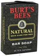 Burt's Bees - Natural Skin Care for Men Bar Soap - 4 oz. (792850568990)