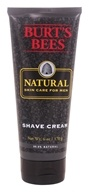 Image of Burt's Bees - Natural Skin Care for Men Shave Cream - 6 oz.
