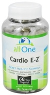 All One - Cardio E-Z - 180 Capsules (formerly TRC Nutritional Labs), from category: Nutritional Supplements
