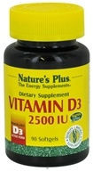 Image of Nature's Plus - Vitamin D 2500 IU - 90 Softgels