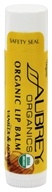 Image of Aubrey Organics - Treat 'Em Right Organic Lip Balm Vanilla & Honey - 0.15 oz. OVERSTOCKED
