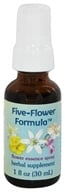 Flower Essence Services - Five-Flower Formula Organic Stress Relief Spray - 1 oz. (782932210404)