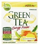 To Go Brands - Healthy To Go Green Tea Energy Fusion Honey Lemon - 24 Packet(s), from category: Nutritional Supplements