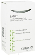 Giovanni - Bathe Moisturizing Body Bar Soap Bamboo Birch - 5 oz. (716237180919)