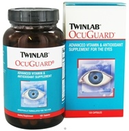 Image of Twinlab - OcuGuard Advanced Vitamin & Antioxidant Supplement For The Eyes - 120 Capsules
