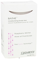 Image of Giovanni - Bathe Moisturizing Body Bar Soap Raspberry Winter - 5 oz. DAILY DEAL