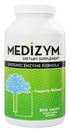 Naturally Vitamins - Medizym Systemic Enzyme Formula - 800 Tablets