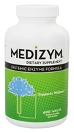 Image of Naturally Vitamins - Medizym Systemic Enzyme Formula - 400 Tablets