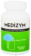 Naturally Vitamins - Medizym Systemic Enzyme Formula - 100 Tablets