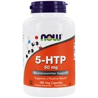NOW Foods - 5-HTP 50 mg. - 180 Capsules