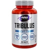 Image of NOW Foods - Tribulus 1000 mg. - 180 Tablets