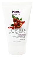 NOW Foods - Green Tea Pomegranate Day Cream - 2 oz.