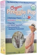 Three Lollies - Preggie Pop Drops Organic Assorted Sour Fruit - 12 Lozenges (695342612679)