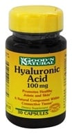Good 'N Natural - Hyaluronic Acid 100 mg. - 30 Capsules (698138176874)