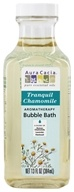Image of Aura Cacia - Aromatherapy Bubble Bath Tranquility - 13 oz.