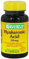 Good 'N Natural - Hyaluronic Acid 50 mg. - 30 Capsules, from category: Nutritional Supplements
