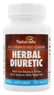 Naturade - Herbal Diuretic K.B. 11 - 120 Tablets, from category: Sports Nutrition