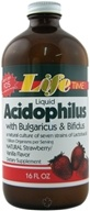 Image of LifeTime Vitamins - Acidophilus Liquid Strawberry/Vanilla Flavor - 16 oz.