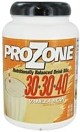 Nutribiotic - ProZone Nutritionally Balanced Drink Mix Vanilla Bean - 22.5 oz. CLEARANCED PRICED, from category: Sports Nutrition