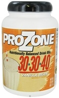 Nutribiotic - ProZone Nutritionally Balanced Drink Mix Vanilla Bean - 22.5 oz. CLEARANCED PRICED by Nutribiotic