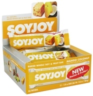 Image of SoyJoy - All Natural Baked Whole Soy & Fruit Bar Mango Coconut - 1.05 oz.