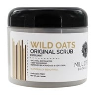Image of Mill Creek Botanicals - Wild Oats Scrub Natural Exfoliator - 4 oz.