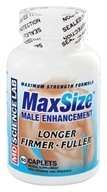 Image of MD Science Lab - Max Size Male Enhancement Formula Maximum-Strength - 60 Tablets